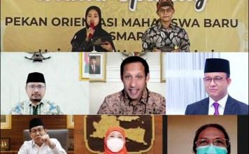 POSMARU UNHASY: Grand opening Posmaru Unhasy dihadiri secara virtual dari menteri hingga kepala daerah. | Foto: IST
