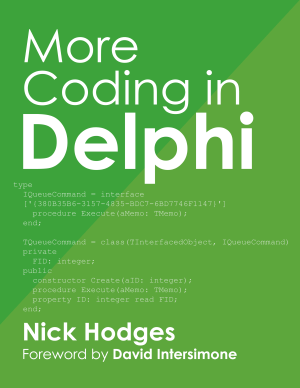 More Coding in Delphi