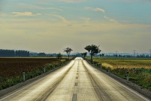 voyage road trip à moto