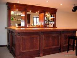 L Shaped Home Bar Ideas