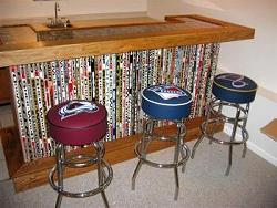 Hockey Stick Furniture Plans
