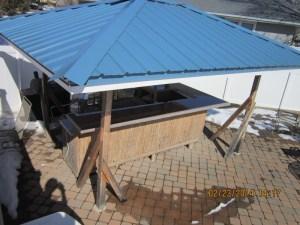gazeebo roof bar