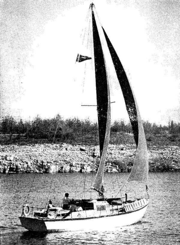 Армоцементная крейсерская яхта 171Хэпи Бэби187 Проекты