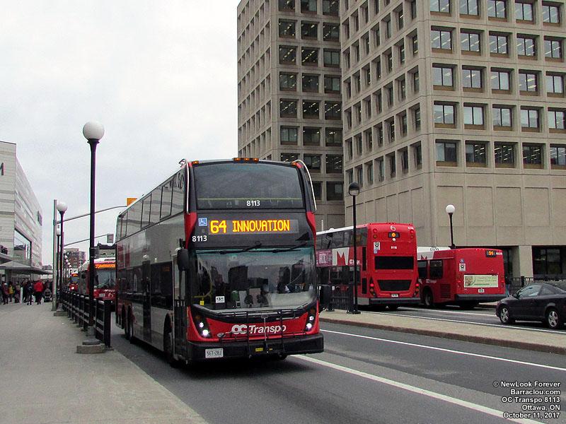 Oc Transpo Ottawa Ontario Autobus 8000 8999 Buses