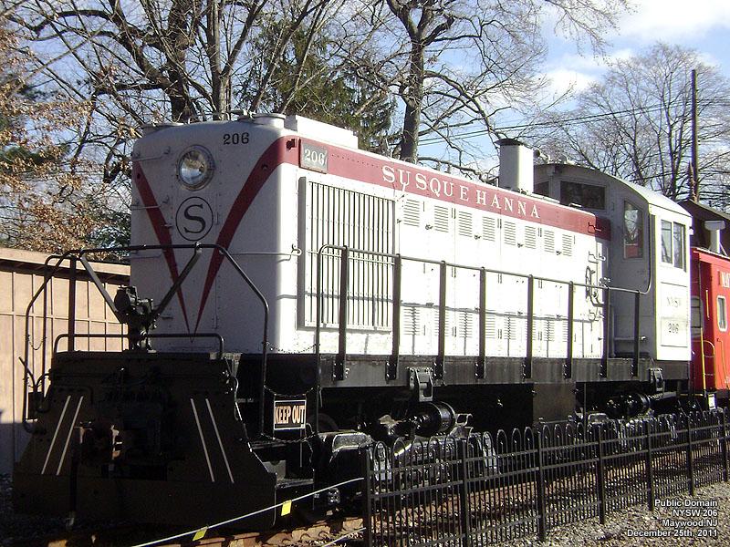 New York Susquehanna Amp Western Railway Susie Q Nysw