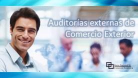 Auditorías externas de comercio exterior