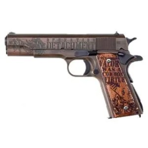 "AUTO-ORDINANCE 1911 45ACP 5"" 75TH ANNIV IWO JIMA TRIBUTE"