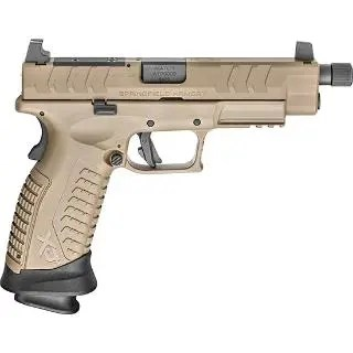 "SPRINGFIELD XD-M ELITE 9MM 4.5"" THREADED 2 MAGS OSP FDE"