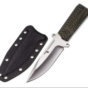 Magnum Research Fixed Blade Knife with 1911 G10 Grips, 9-Inch (QBUKNIFE1911)