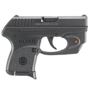 """RUGER LCP 380ACP 2.75"""" RED E-SERIES VIRIDIAN LASER"""