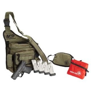 SW M&P9 SHIELD 9MM BUG OUT BAG BUNDLE