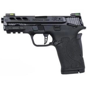 "SMITH & WESSON PC M&P380 SHIELD EZ 380ACP 3.8"" BLACK PORTED"