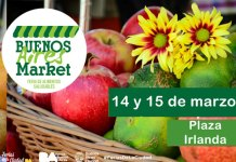 Bs. As. Market en Plaza Irlanda 14 y 15 de marzo