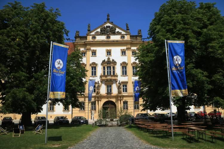 Biergarten Schloss Ellingen