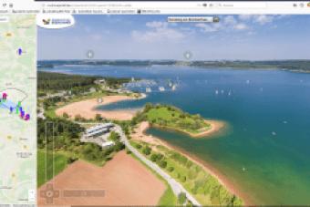 Fränkisches Seen.Land 360° Panorama Rundgang