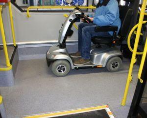 scooter im ÖPNV