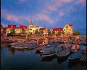 Abendstimmung Friedrichshafen Gondelhafen