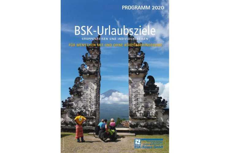 Titelbild BSK Reisekatalog: Jede Menge barrierefreie Reiseziele für Menschen mit Handicap sind im neuen BSK-Katalog zu finden. (Foto: BSK)