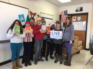 Prairie MS Book donation