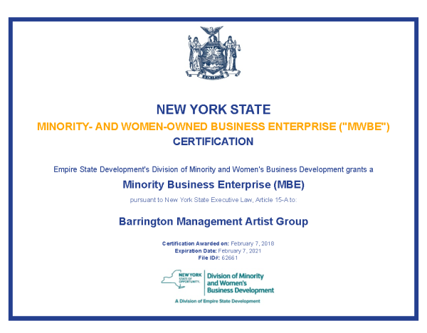 Barrington | Barrington Management