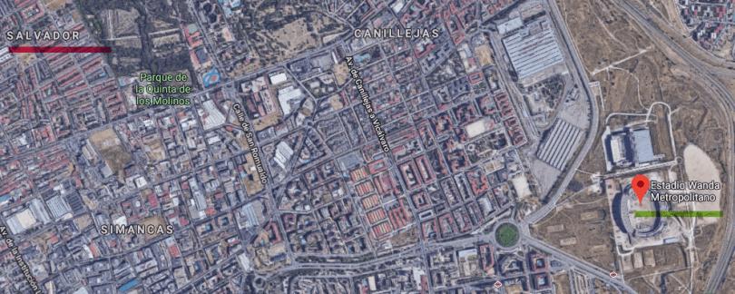 wanda metropolitano barrio