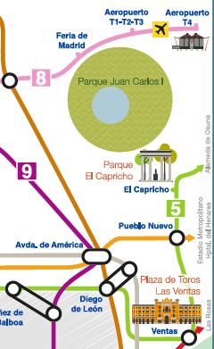 plano turístico metro