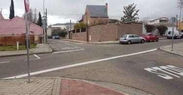 paso de peatones calle teseo