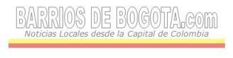 Visitantes a Barrios de Bogota .com