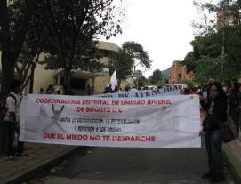 Marcha contra panfletos