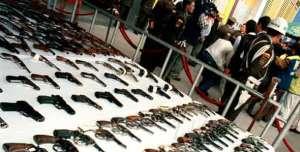 Desarme en Bogotá