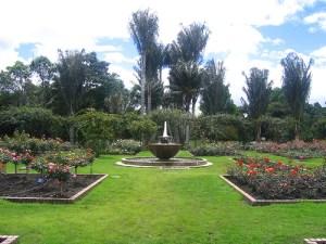 Jardin Botánico en vacaciones