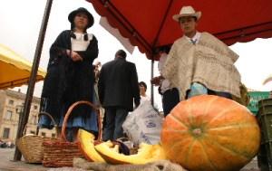 Mercado campesino en Suba