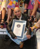 Alexander con su récord mundial