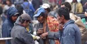 Indigentes en Bogotá