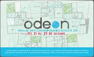 Feria Odeón - Arte Contemporáneo en Bogotá