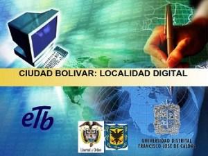 Ciudad Bolívar localidad digital