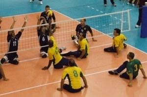 Equipo Masculino de Voleibol Sentado