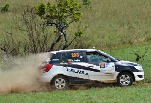 Rally colombiano en acción