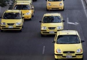 Taxis de Bogotá