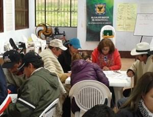 Agricultores de Ciudad Bolívar y Usme