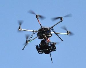 Dron con tecnología colombiana