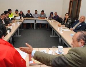 Reunión de tenderos con Secretario de Gobierno