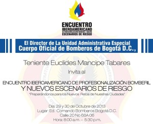 Encuentro Iberoamericano de Bomberos
