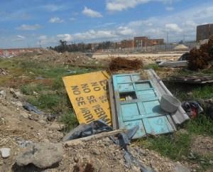 Inadecuado manejo de residuos de construcción