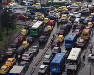 Puntos críticos de movilidad en Bogotá