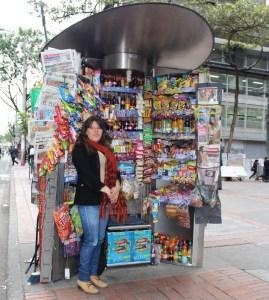 Quioscos para vendedores informales en Antonio Nariño