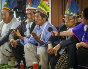 Indígenas de Bogotá