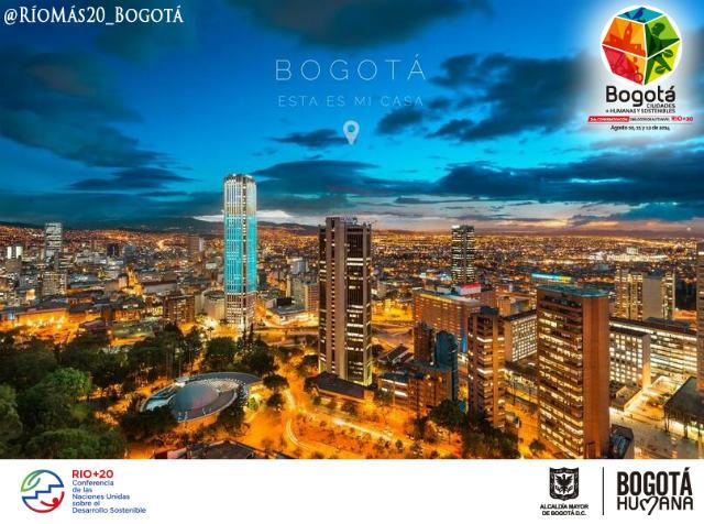Afiche Bogotá Río+20