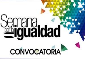 Convocatoria Semana de la Igualdad 2014