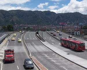 Malla vial Troncal Bogotá
